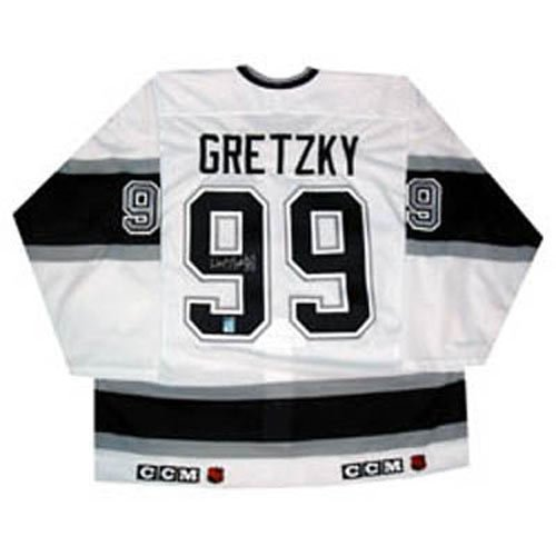 Frozen Pond Los Angeles Kings Wayne Gretzky Autographed Jersey