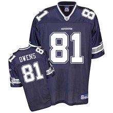 Dallas Cowboys Terrell Owens Replica Team Color Jersey