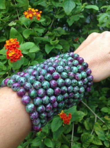 Ruby in Fuchsite Bracelet