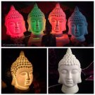 BUDDHA LAMP Made of white Porcelain