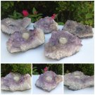Gemstone Amethyst Quartz Candle Holder