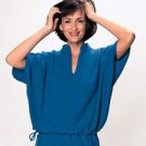 Batwing Sleeve Top with Drawstring