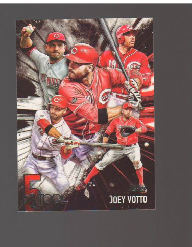 2017 Topps Five Tool #5T18 Joey Votto Team: Cincinnati Reds