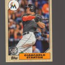 2017 Topps '87 Topps #2 Giancarlo Stanton Team: Miami Marlins