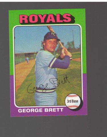 2017 Topps Rediscover Topps #RT6 George Brett Team: Kansas City Royals
