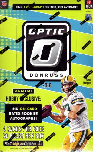 2016 Donruss Optic Complete Base Football Set 1-100 CASE FRESH