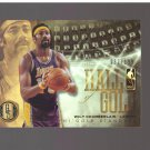 2012-13 Panini Gold Standard Hall of Gold #13 Wilt Chamberlain 092/199 : Team Los Angeles Lakers
