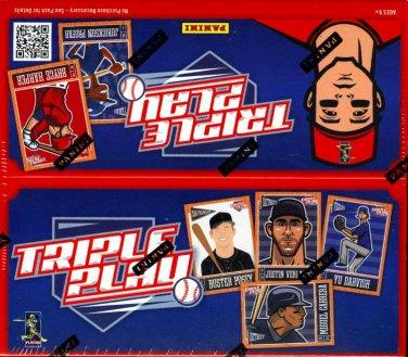 2013 Triple Play Baseball Set 1-100 CASE FRESH Trout Harper Jeter Ichiro Pujols