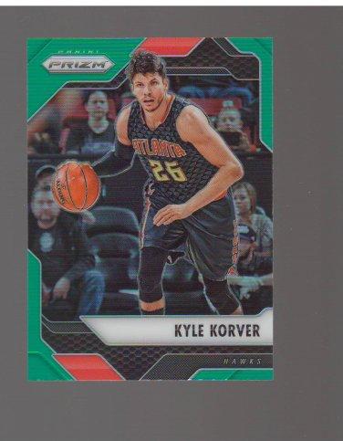 2016-17 Panini Prizm Prizms Green #74 Kyle Korver Team: Atlanta Hawks