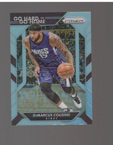 2016-17 Panini Prizm Go Hard or Go Home Prizms Silver #15 DeMarcus Cousins Team: Sacramento Kings