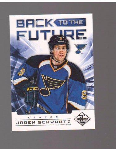 2012-13 Limited Back To The Future #BTFSS Brendan Shanahan/Jaden Schwartz /199 Team: St. Louis Blues
