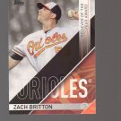 2017 Topps MLB Awards #RLY1 Zach Britton Team: Baltimore Orioles