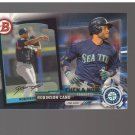 2017 Topps Bowman Then and Now #BOWMAN17 Robinson Cano Team: Seattle Mariners