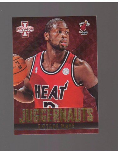 2013-14 Innovation Juggernauts #14 Dwyane Wade Team: Miami Heat