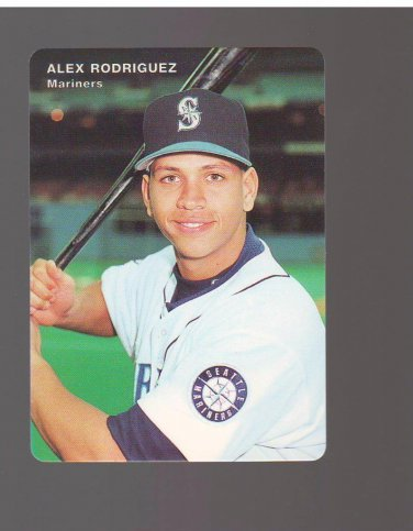 1995 Mariners Mother's #7 Alex Rodriguez Team: Seattle Mariners