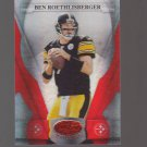 2008 Leaf Certified Materials Mirror Red #112 Ben Roethlisberger 090/100 Team: Pittsbrugh Steelers