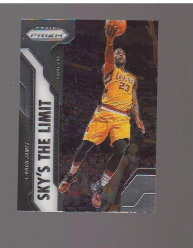 2016-17 Panini Prizm Sky's the Limit #4 LeBron James Team: Cleveland Cavaliers