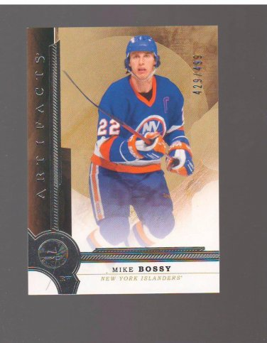2016-17 Artifacts #139 Mike Bossy LEGEND 429/499