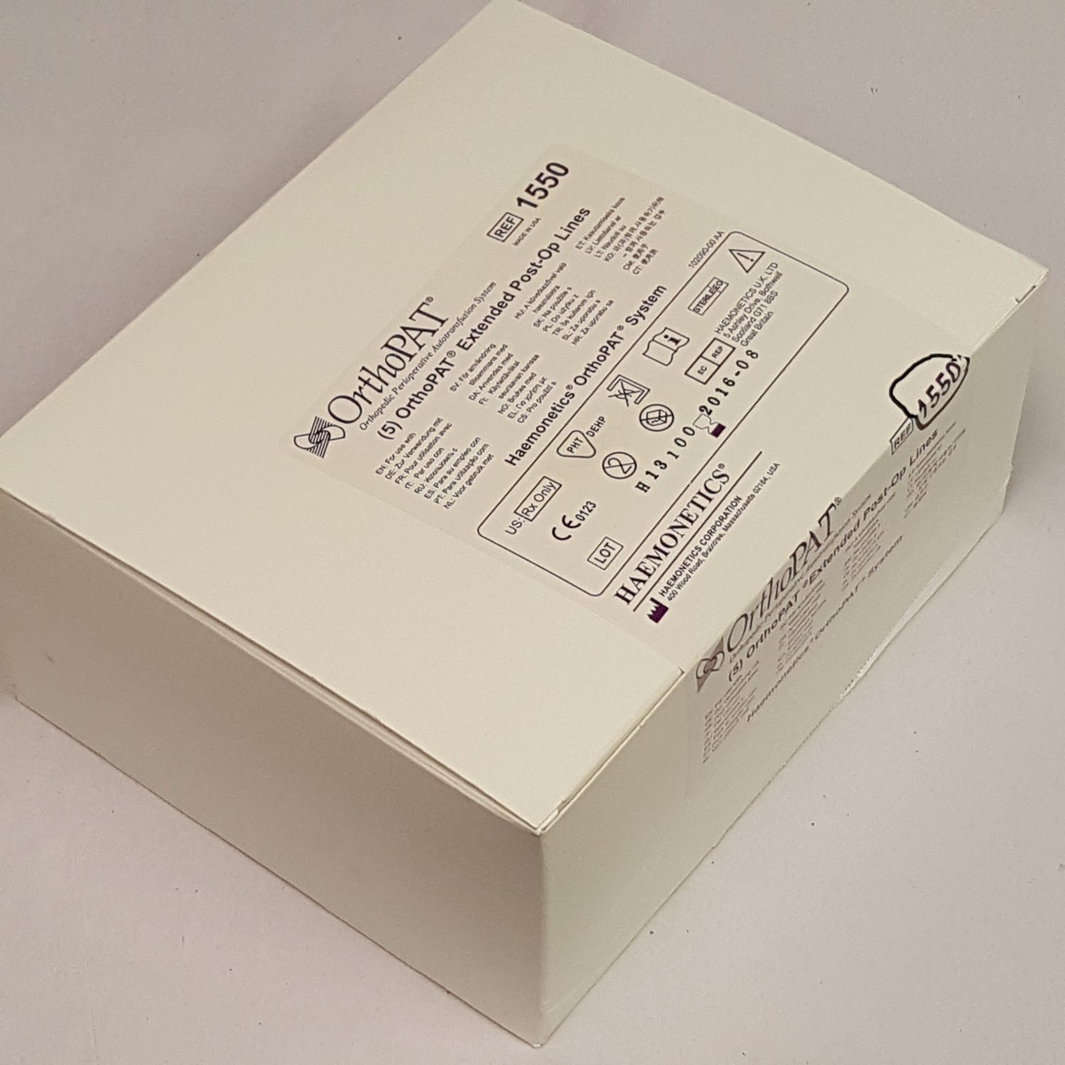 Box of 5 / OrthoPAT 1550 Extended Post-Op Lines
