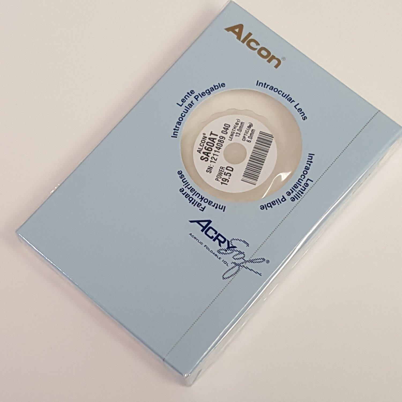 Alcon SA60AT Acrysof  Lens  19.5D