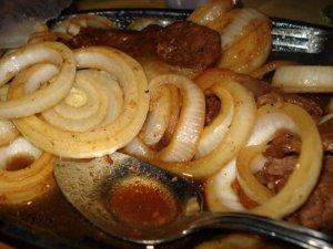 Beefsteak with Onion