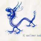 30cm Chinese dragon handmade toys gifts special travel crafts aluminum wire hand products