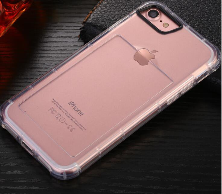 Iphone 6/7plus Airbag Anti - Breaking Case Transparent TPU Protection Soft Shell