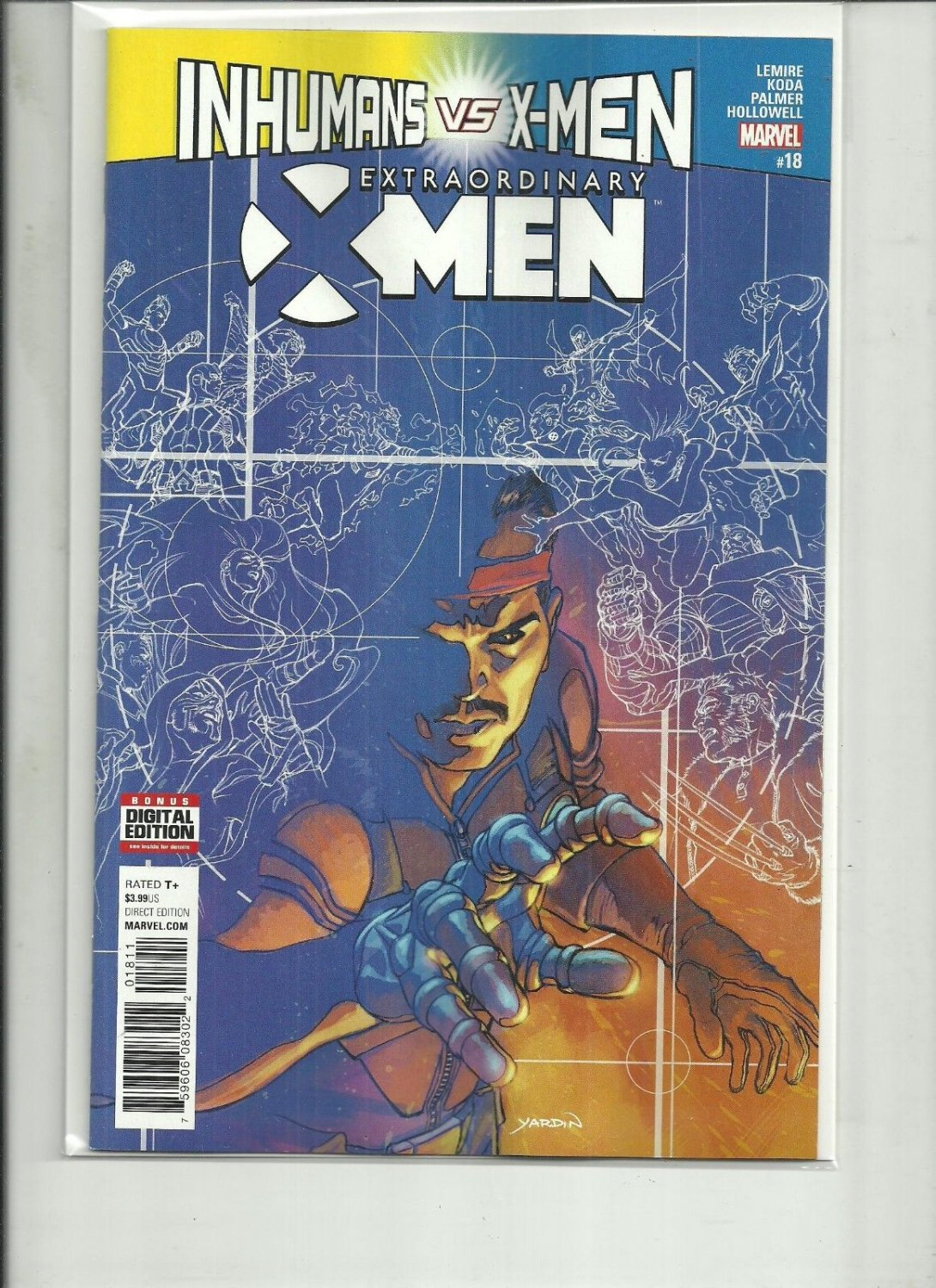 EXTRAORDINARY X-Men #18 INHUMANS VS X-MEN MARVEL COMICS 2017 NM 1ST PRINT