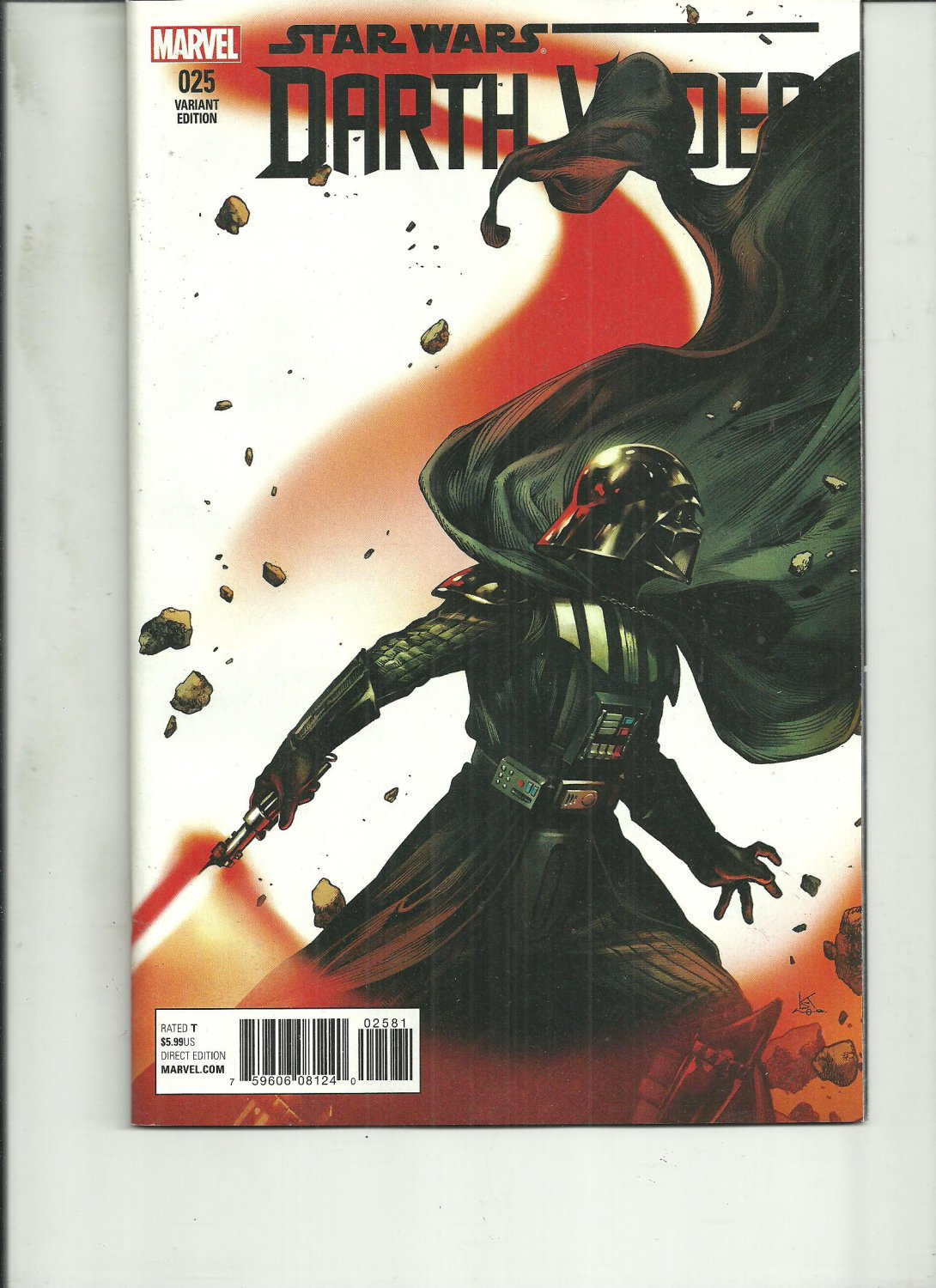 DARTH VADER #25 VARIANT COVER MARVEL COMICS 2016