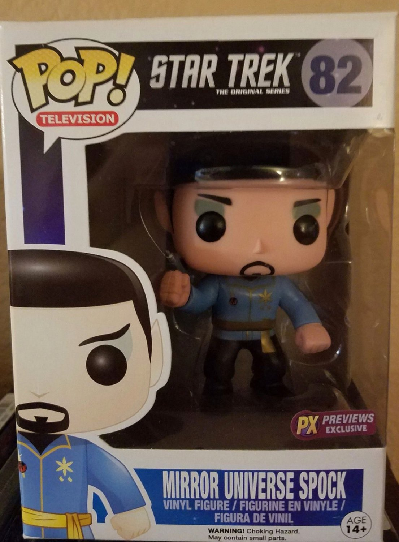 FUNKO POP! Vinyl Star Trek Mirror Universe Spock PX Previews EXCLUSIVE