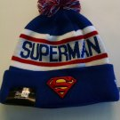 "SUPERMAN New Era ""Biggest Fan Redux"" Cuffed Knit Hat DC COMICS"