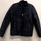Ben Sherman Men's Quilted Down Puffer Zip Jacket Coat~Black~Sz-M~NEW