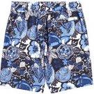 Nautica Men's Swim Trunks Ocean Swimsuit~Boardshorts~Blue/Black~Sz-M~NEW