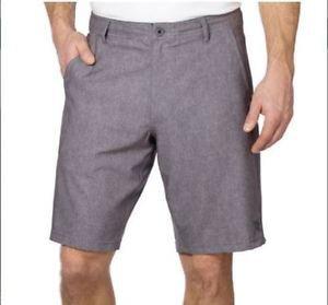 DaHui Men's Hybrid Casual Board Stretch Shorts~Heather Grey~Sz-30 thru 46~NWT