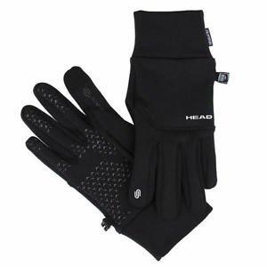 HEAD Athletic Digital Touch Running Gloves Sensatec~Black~Sz-XS, S, M, L~NWT