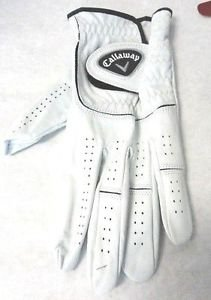 CALLAWAY~Men's~1 Golf Glove CABRETTA LEATHER~Sizes- S,M & L~all sizes~NEW