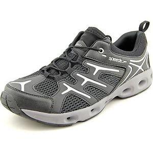 Speedo Men's New Hydro Comfort 3.0 Water Shoes~Black/Gray~Sz-8~NWT
