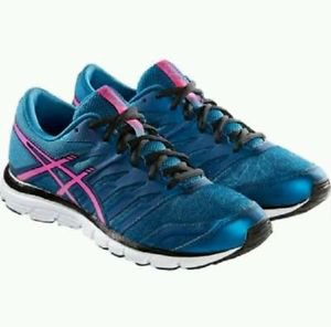 Asics Women's Gel-Zaraca 4  Running Sneakers Shoes~Sz-9.5~Blue/Pink~NWT