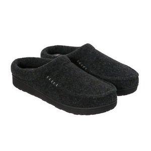 Dearfoams Men's Memory Foam Indoor/Outdoor Slippers~Black~Sz-S (7/8)~NWT