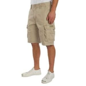 UnionBay Young Men's Cargo Casual Shorts~Desert~Sz-42~Heavy Rugged Cotton~NWT