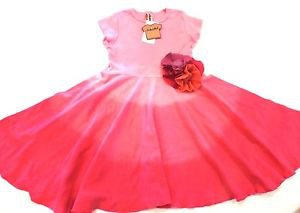 Mignone Girls Tie Dye Pink Summer Party Dress~Size-3T & 4T~NWT