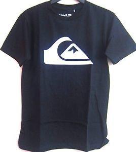 Quiksilver Boy's Short Sleeve Crew Neck T-Shirt~Black~Sz-XL-18/20~NWT