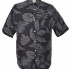 Jamaica Jaxx Men's Hawaiian Button Down Short Sleeve Shirt~100% Silk~Sz- L~NWT