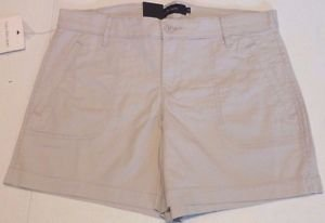 Calvin Klein Jeans Women's Stretch Shorts~Flight Stone~Sz~ 8~NWT