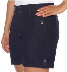 nGloria Vanderbilt Women's Celina Casual Shorts~Denim~Sizes~4,8 & 10~NWT