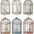 A & B Home Brock Decor 6 Round  Birdcage Set~NIB