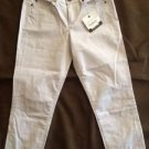 Calvin Klein Jeans Women's Skinny Crop Power Stretch Capri Pants~Gray~Sz-8~NWT