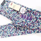 Levi's Girls Knit Jean Pant Stretch Leggings w/adjustable Waist~Floral~Sz-14~NWT