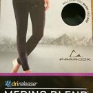 Paradox Women's DriRelease Merino Blend Bottom Base Layer Pants~Black~Sz-S~NWT