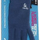 Head Ladies Digital Touch Athletic Running SensaTec Gloves~Heather Blue~Sz-L~NWT